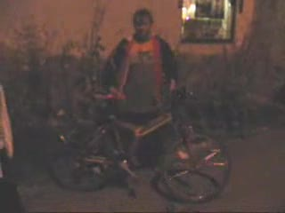 Drunk Russian Riding Bike