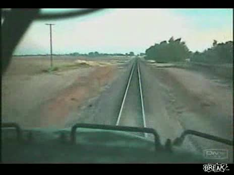 Trains Hitting Head On