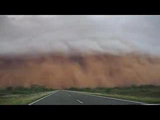 Driving into Sandstorm