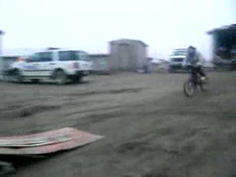 Bike Ramp Accident