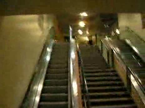 Escalator Stunt Failure