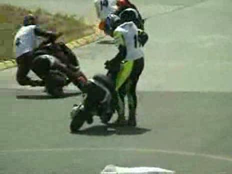 Motorbike Race Problems